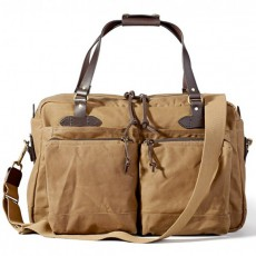 48-Hour Tin Cloth Duffle Bag Dark Tan