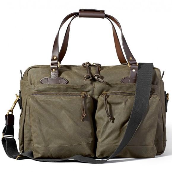 48-Hour Tin Cloth Duffle Bag Otter Green