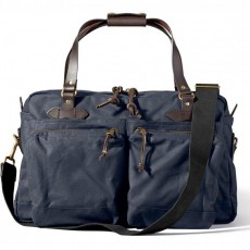 48-Hour Tin Cloth Duffle Bag Navy