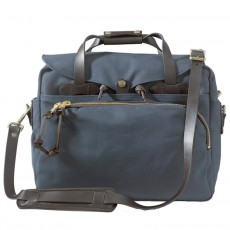 Rugged Twill Padded Computer Bag Navy