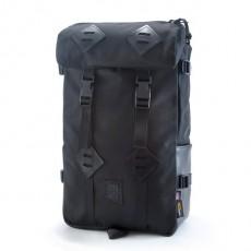 Klettersack Ballistic Black / Black Leather