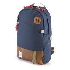 Day Pack Navy / Brown Leather