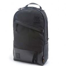 Day Pack Ballistic Black / Black Leather