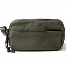 Rugged Twill Travel Kit Otter Green
