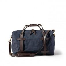 Small Rugged Twill Duffle Bag Navy