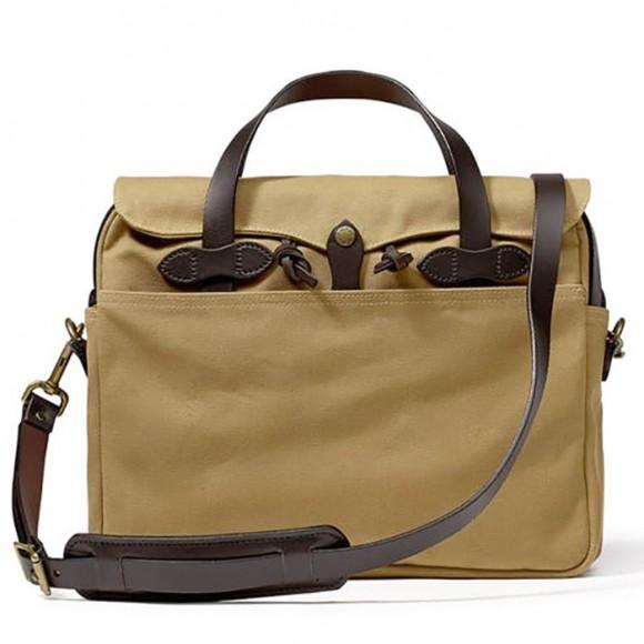 Rugged Twill Original Briefcase Tan