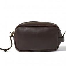 Weatherproof Leather Travel Kit Sierra Brown