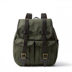 Rugged Twill Rucksack Backpack Otter Green