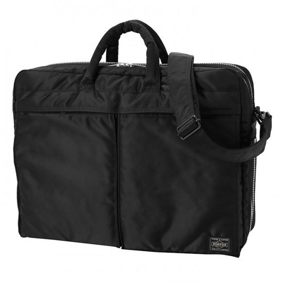 Tanker New 2 Way Briefcase Black