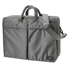 Tanker New 2 Way Briefcase Silver Gray