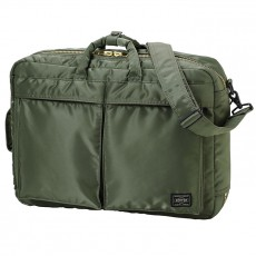 Tanker New 3 Way Briefcase Sage Green